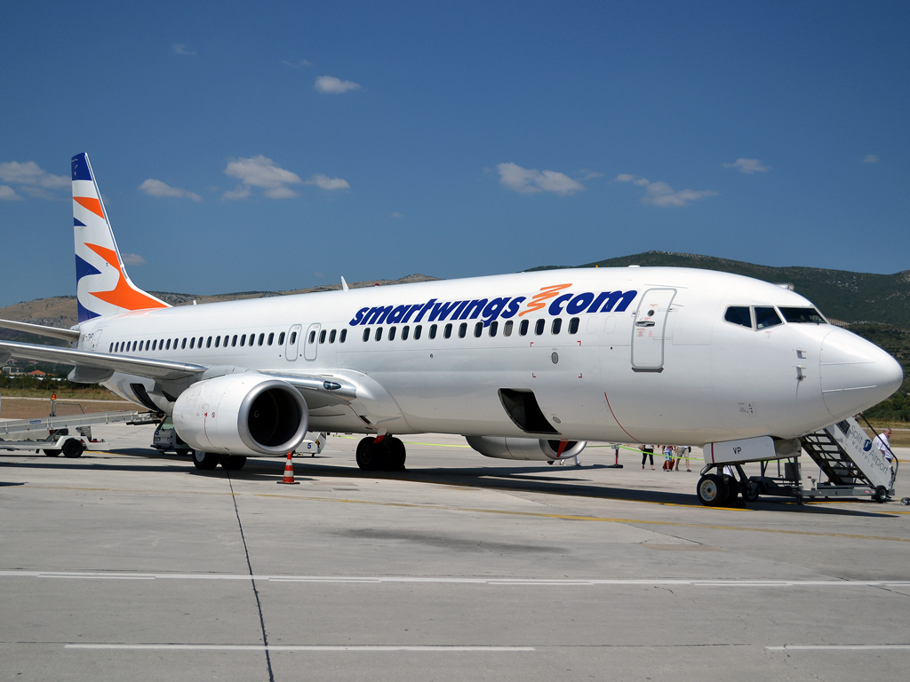 самолет boeing лоукостера SmartWings