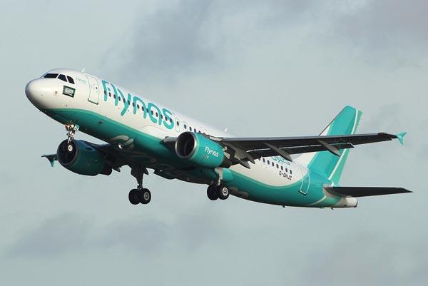 самолет flynas