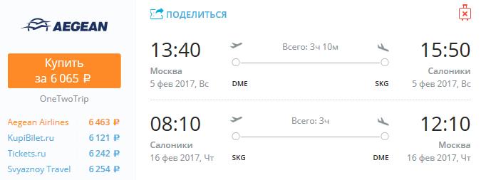 Москва-Салоники