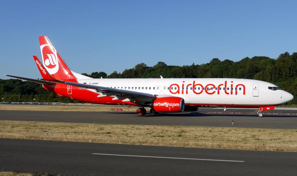 самолет airberlin
